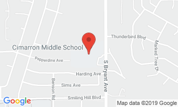 Clickable Map for Cimarron Middle School 3701 S. Bryant Edmond, OK 73013